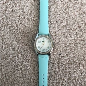 Lacoste blue watch